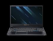 Ноутбук Acer PH315-52-54YU Predator Helios 300  15.6'' FHD(1920x1080) IPS/Intel Core i5-9300H 2.40GHz Quad/8GB/1TB+256GB SSD/GF GTX1660Ti 6GB/WiFi/BT5.0/1.0MP/2in1/4cell/2.40kg/Linux/1Y/BLACK
