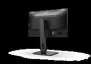 Монитор жидкокристаллический AOC Монитор LCD 21.5'' [16:9] 1920х1080(FHD) IPS, nonGLARE, 250cd/m2, H178°/V178°, 1000:1, 50M:1, 16.7M, 4ms, VGA, DVI, HDMI, USB-Hub, Height adj, Pivot, Tilt, Swivel, Speakers, 3Y, Black