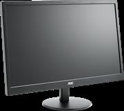 Монитор жидкокристаллический AOC Монитор LCD 21,5'' (16:9) 1920х1080 TN, nonGLARE, 200cd/m2, H90°/V65°, 20М:1, 5ms, VGA, DVI, Tilt, 3Y, Black