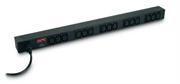 Блок распределения питания APC Rack PDU,Basic,Zero U,10A,230V, (15)C13