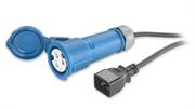 Кабель APC Power Cord, 16A, 230V, C20 to IEC 309F