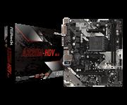 Плата материнская Asrock Asrock A320M-HDV R4.0, AM4, AMD A320, mATX, BOX