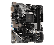 Плата материнская Asrock Asrock B450M-HDV R4.0, AM4, AMD B450, mATX, BOX