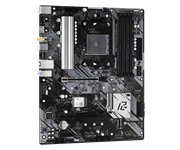 Плата материнская Asrock Asrock B550 PHANTOM GAMING 4/AC, AM4, AMD B550, ATX, BOX