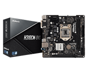 Плата материнская Asrock Asrock H310CM-DVS, LGA1151, Intel H310, mATX, BOX