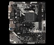 Плата материнская Asrock Asrock X370M-HDV R4.0, AMD AM4 X370/2DDR4/4SATA3