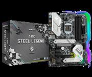 Плата материнская Asrock Asrock Z390 STEEL LEGEND, LGA1151, Intel Z390, ATX, BOX