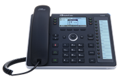 Телефон IP AudioCodes 440HD IP Phone PoE GbE and external power supply Black