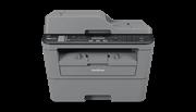 Многофункциональное устройство Brother MFC-L2700DNR серый, лазерный, A4, монохромный, ч.б. 24 стр/мин, печать 2400x600, скан. 600х2400, стартовый картридж, сеть, факс, автоподатчик, двусторонняя печать