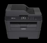 Многофункциональное устройство Brother MFC-L2740DWR черный, лазерный, A4, монохромный, ч.б. 30 стр/мин, печать 2400x600, скан. 600х2400, USB-кабель в комплект поставки не входит, Wi-Fi, факс, автомат. однопроходное двухстороннее скан