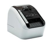 Принтер для этикеток Brother QL-800 с USB для ПК и Mac. Печать черного и красного текста. Печатает наклейки шириной до 62 мм.