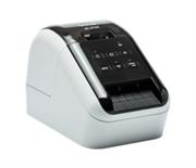 Принтер для этикеток Brother QL-810W с USB, Wi-Fi и AirPrint. Печать черного и красного текста. Печатает наклейки шириной до 62 мм с ПК, смартфона или планшета.