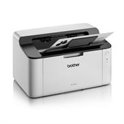Принтер лазерный Brother HL-1110R бело-черный, лазерный, A4, монохромный, ч.б. 20 стр/мин, печать 2400x600, лоток 150 листов, USB