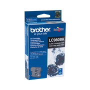 Картридж Brother струйный LC980 чёрный для DCP-145C, DCP-165C, DCP-195C, DCP-375CW (300 стр.)