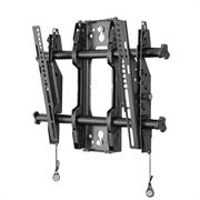 "Кронштейн CHIEF Кронштейн настенный FUSION наклонный для плоских экранов 32-47"", от +2° до -12°, до 34 кг, Landscape/Portrait, 200x200 - 450x400 мм, Black"