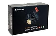 Блок питания Chieftec Блок питания 650W PSU A135 ATX-12V V.2.3/EPS-12V, 14cm Fan, CabManag, 80+ bronze