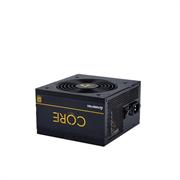 Блок питания Chieftec Chieftec BBS-600S CORE 600W, ATX 12V 2.3 PSU, W/12cm Fan,80 plus Gold