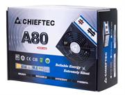 Блок питания Chieftec Блок питания 750W A-80 ATX-12V V.2.3, PS-2 type, 12cm Fan, PFC, CabManag, Efficiency 85, 230V ONLY