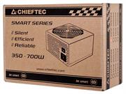 Блок питания Chieftec Блок питания 550W Smart ATX-12V V.2.3 12cm fan, Active PFC, Efficiency 80% with power cord