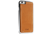 Чехол Cozistyle Leather Chrome Case for iPhone 6s Light Brown/Silver