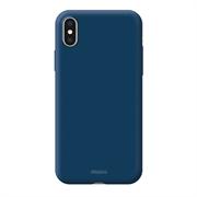 Чехол Deppa Чехол Air Case  для Apple iPhone X/Xs, синий, Deppa