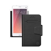 Чехол Deppa Чехол-подставка для смартфонов Wallet Fold S 3.5''-4.3'', черный