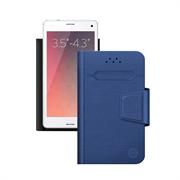 Чехол Deppa -подставка для смартфонов Wallet Fold S 3.5''-4.3'', синий