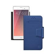 Чехол Deppa -подставка для смартфонов Wallet Fold M 4.3''-5.5'', синий