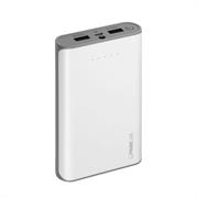 Аккумулятор Deppa для цифровых устройств, 12000мАч, 2.5A, Li-Ion, белый, Prime Line