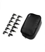Зарядное устройство Deppa Сетевой адаптер питания для ноутбуков, порт USB 1A, 12 коннекторов, 90 Вт, Deppa