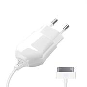 Зарядное устройство Deppa СЗУ 30-pin для Apple 1A, белый, Deppa