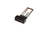 Плата ввода-вывода Digitus Parallel I/O, 1-Port, ExpressCard Add-On Card/b1xDB25 F, Formfactor 34, with Adaptercable PL2305 chipset