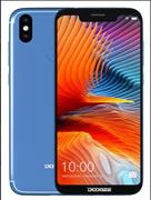 Смартфон Doogee Doogee BL5500lite Blue, 6.19'' 19:9 1500х720, 1.5GHz, 4 Core, 2GB RAM, 16GB, up to 64GB flash, 13Mpix+8Mpix/5Mpix, 2 Sim, 2G, 3G, LTE, BT, Wi-Fi, GPS, Micro-USB, 5500mAh, Android 8.1, 180g, 160.8x76.9x10.5