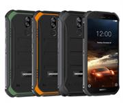 Смартфон Doogee Doogee S40 Mineral Black, 5.5'' 18:9 480 x 960, 1.5GHz, 4 Core, 2GB RAM, 16GB, up to 64GB flash, 5Mpix+8Mpix/5Mpix, 2 Sim, 2G, 3G, LTE, BT, Wi-Fi, NFC, GPS, Micro-USB, 4650 мА·ч, Android 9.0 (Pie), 238 г, 158,2 ммx79 ммx14,1 мм, IP68, IP69