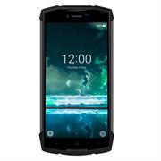 Смартфон Doogee Doogee S55 Black, 5.5'' 18:9 1440x720, 1.5GHz, 8 Core, 4GB RAM, 64GB, up to 128GB flash, 13Mpix+8Mpix/5Mpix, 2 Sim, 2G, 3G, LTE, BT, Wi-Fi, GPS, Glonass, Micro-USB, 5500mAh, Android 8, 265g, 161.32х77.8х14.15, IP68