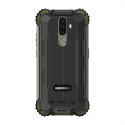 "Смартфон Doogee Doogee S58 Pro Army Green, 5.71"" 19:9 720 x 1520 пикселей, 4x2,0 ГГц+4x1,5 ГГц, 8 Core, 6GB RAM, 64GB, up to 256GB flash, 16 МП+ 2 МП + 2 МП/16Mpix, 2 Sim, 2G, 3G, LTE, BT v5.0, Wi-Fi, NFC, GPS, Type-C, 5180mAh, Android 10, 284 г, 162,8 мм"