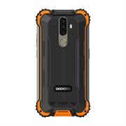 "Смартфон Doogee Doogee S58 Pro Fire Orange, 5.71"" 19:9 720 x 1520 пикселей, 4x2,0 ГГц+4x1,5 ГГц, 8 Core, 6GB RAM, 64GB, up to 256GB flash, 16 МП+ 2 МП + 2 МП/16Mpix, 2 Sim, 2G, 3G, LTE, BT v5.0, Wi-Fi, NFC, GPS, Type-C, 5180mAh, Android 10, 162,8 ммx81 мм"