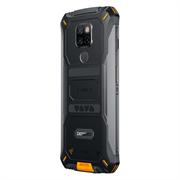 Смартфон Doogee Doogee S68 Pro Fire Orange, 5.9'' 1080x2280, 4 x Cortex - A53 2.0 ГГц+4 x Cortex -A73 2.0 ГГЦ, 8 Core, 6GB RAM, 128GB, up to 128GB flash, 21МП + 8МП + 8МП/16Mpix, 2 Sim, 2G, 3G, LTE, BT, Wi-Fi, NFC, GPS, Type-C, 6030 мА·ч, Android 9.0 (Pie
