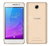 Смартфон Doogee Doogee X10s Mocha Gold, 5'' 854x480, 1.3GHz, 4 Core, 1GB RAM, 8GB, up to 128GB flash, 5Mpix/2Mpix, 2 Sim, 2G, 3G, BT, Wi-Fi, GPS, Micro-USB, 3360mAh, Android 8.1 Oreo версия GO, 185g, 146.8x73x9.8