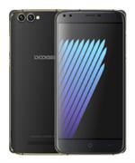 Смартфон Doogee Doogee X30 Black, 5.5'' 16:9 1280x720, 1.3GHz, 4 Core, 2GB RAM, 16GB, up to 64GB flash, 8Mpix/5Mpix, 2 Sim, 2G, 3G, BT, Wi-Fi, GPS, Micro-USB, 3360mAh, Android 7.0, 193g, 154.5x76.9x9.8, Две основных камеры