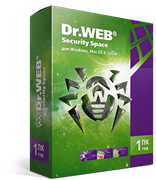 Право на использование программного обеспечения DrWeb Dr.Web Security Space, КЗ, продление на 24 мес., 2 лиц