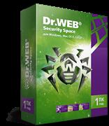 Право на использование программного обеспечения DrWeb Dr.Web Security Space, КЗ, продление на 24 мес., 5 лиц