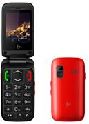 Телефон сотовый F+ Ezzy Trendy 1 Red, 2.4'' 240х320, 256MHz, 1 Core, 32MB RAM, 32MB, up to 16GB flash, 0,3Mpix, 2 Sim, BT v2.1, Micro-USB, 800mAh, 89g, 100,8 ммx53 ммx19,5 мм