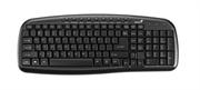 Клавиатура Genius KB-M225, C, Black USB, RU, 9 мультимедийных клавиш