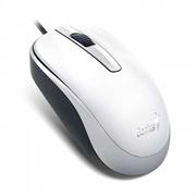 Мышь Genius DX-120, USB (белая, оптическая 1000dpi)
