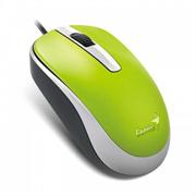 Мышь Genius DX-120, USB (зелёная, оптическая 1000dpi)