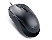 Мышь Genius DX-125, USB (чёрная, оптическая 1000dpi)
