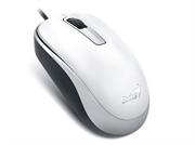 Мышь Genius DX-125, USB (белая, оптическая 1000dpi)