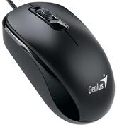 Мышь Genius DX-110, USB (чёрная, оптическая 1000dpi)