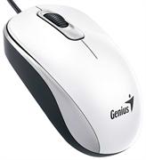 Мышь Genius DX-110, USB (белая, оптическая 1000dpi)